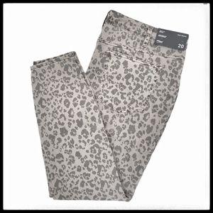 ⭐SALE⭐Silver Jeans Leopard Mid Rise Skinny